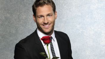 juan pablo with rose